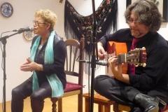 Ana Reverte y Juan Ramón Caro