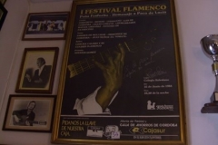 Cartel de Homenaje a Paco de Lucía