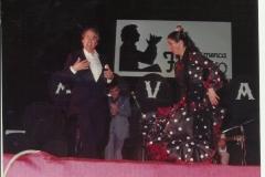 Concha Calero y Rafael Muñoz