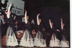 Grupo de baile de la academia de Concha Calero